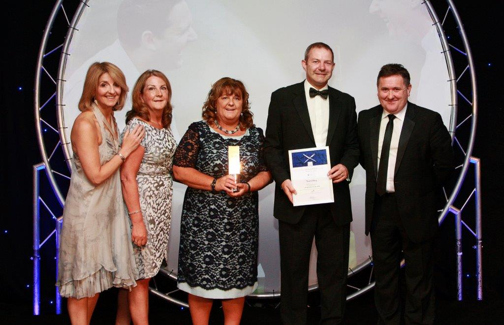 CIS 2015 Healthier Scotland Award