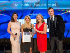Healthier Scotland  Award low
