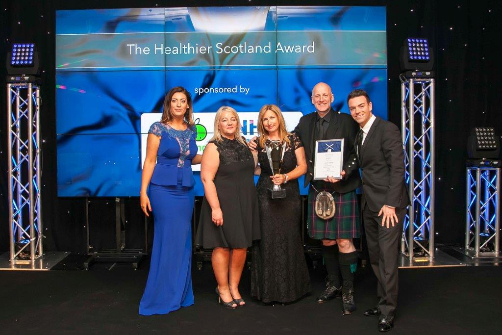 The Healthier Scotland Award