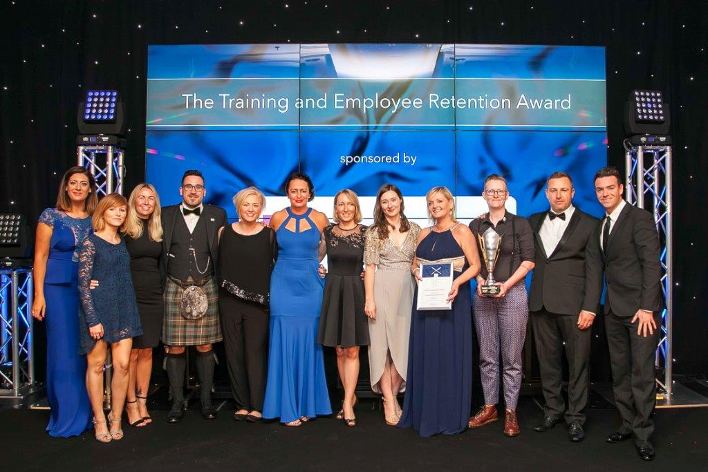 The Training and Employee Retention Award